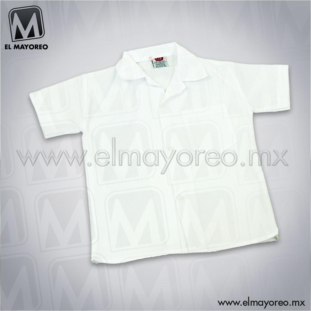 c32a6c370d6bf Camisa Escolar Blanca J.J.B. – El Mayoreo