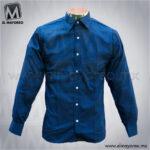 Camisa-Vestir-Lisa-Paquete-Azul-Marino-A