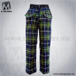 Pantalon-Boxer-Escolar-Escoces-Azul-Marino-con-Verde-Lineas-Amarillas-y-Blancas-B