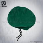 Boina-Basica-Verde-Bandera-para-Uniforme-de-Escolta