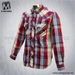 Camisa-Vaquera-Manga-Larga-Tinto-con-Beige-B