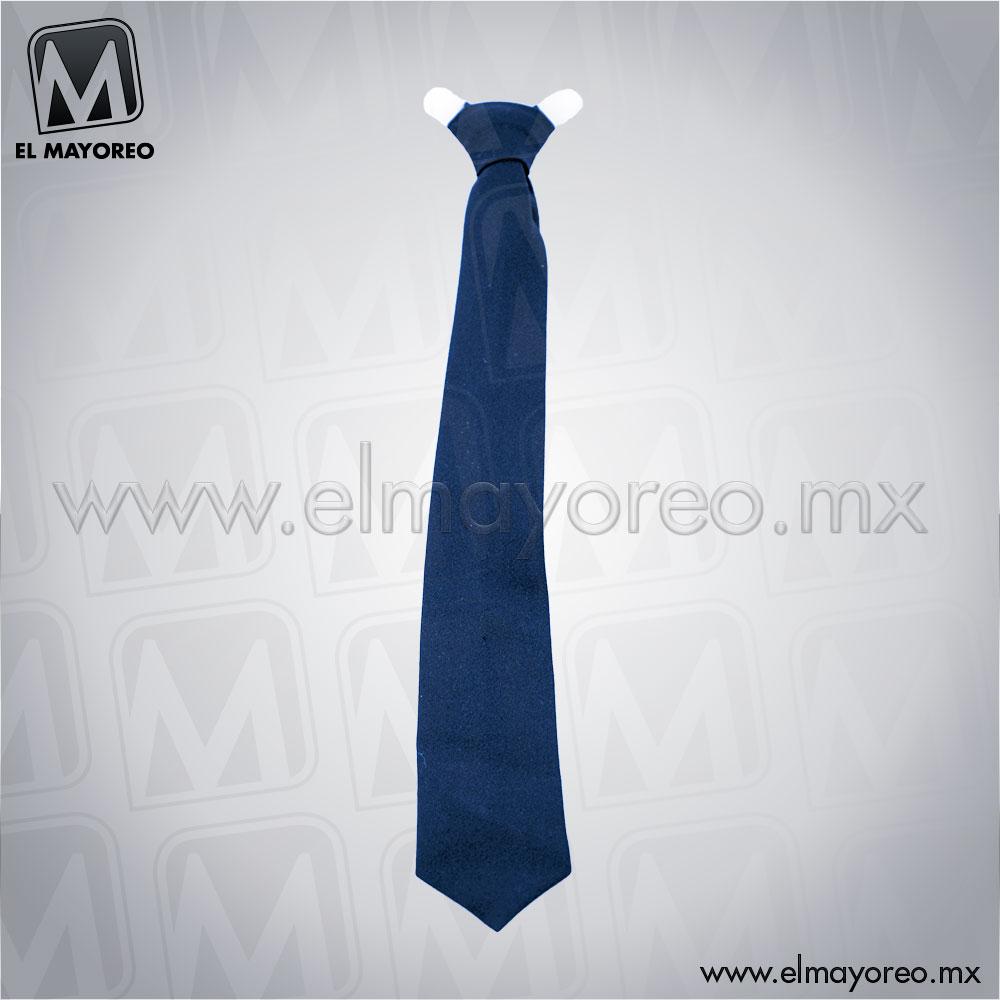 Corbatin-Escolar-Azul-Marino-para-Uniforme-de-Escolta