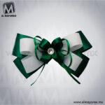 Monio-Basico-Verde-con-Blanco-para-Uniforme-de-Escolta