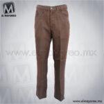 Pantalon-Vaquero-Poliester-Wrantler-Cafe-A